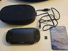 Sony PlayStation Vita Handheld System - Black (22031) w/ 4GB SD CARD