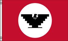 United Farm Workers Flag 3x5 ft Ufw Union Black Eagle Logo Farmers Labor Fields