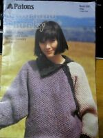 Patons Knitting Pattern no.260 Moorland Chunky 10 pure wool hand knits