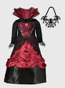 BRANDNEW & UNWORN ( VAMPIRESS - HALLOWEEN FANCY DRESS ) BRILLIANT COSTUME