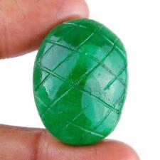 Natural Oval Opaque Loose Emeralds