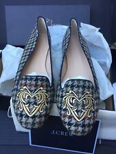 J.crew SOPHIE EMBROIDERED LOAFERS size 10