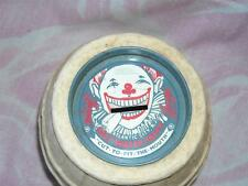 Original Clown Barrel Bank, James Salt Water Taffy, Atlantic City N.J., 1950's