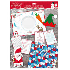 Christmas Activity Packs Placemats/Games - Christmas Eve activity Pack