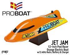 Pro Boat Jet Jam 12-Inch Orange Pool Racer Electric Boat Rtr Prb08031T1
