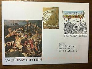 Österreich, CHRISTKINDL bei Steyr, 2009, Automatenmarke,Leitzettel