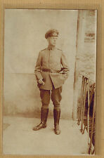 Cpa Allemagne Carte Photo Militaire Soldat allemand m0270