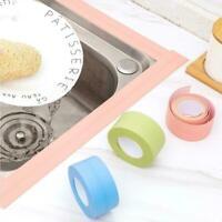 Self-Adhesive Sealing Strip Tape Waterproof For Bathroom Kitchen Basin Sink N2X5