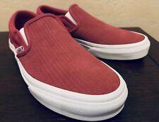 7da179762fcf VANS Classic Slip-on Embossed Suede Skate Shoes Women s Size 7 Dry Rose