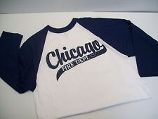 Chicago Fire Department 3/4 Sleeve Baseball Tee