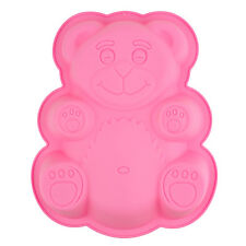 Teddy Bear Chocolate Mould Silicone Cake Muffin Making Toppers Cupcake Fondant