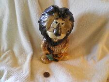Hubert The Lion, Harris Bank, Chicago Porcelain Piggy Bank, Lefton 1980s