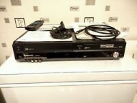 Panasonic DMR-EZ47V VCR VHS Video Tape To DVD Recorder HDMİ FREEVİEW