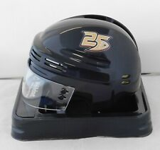 Anaheim Ducks 25th Anniversary Black NHL Hockey Replica Mini Helmet (New)