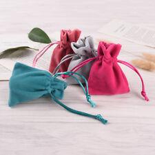 2X7*9 Jewelry Packing Velvet Bag Velvet Drawstring Bag Pouch Gift Game Random LC