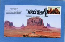 Sc #4627 Arizona Statehood S&T Cachets First Day Cover