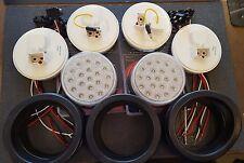 """(4) 19 LED Trux Dual Revolution & (2) Standard 4"""" Round Clear Lens S/T/T B/U Kit"""