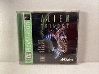 Alien Trilogy (Sony PlayStation 1, 1996) Complete