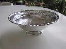 Antique Charles Howard Collins Silverplate Bowl