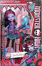 Monster High Jane Boolittle Puppe BLV98 NEU/OVP