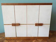 Schrank Bodo Hennig 70er Puppenstube Puppenhaus 1:12 dollhouse closet