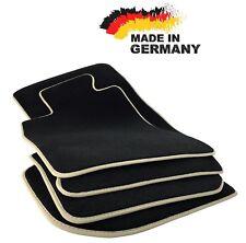 Premium Fußmatten BMW E90 E91 SCHWARZ Hochwertig Velours Beige Original Qualität
