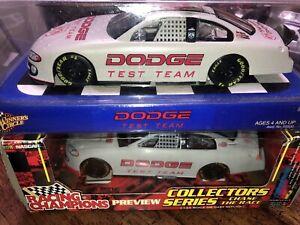 Winners Circle DODGE DEALERS TEST TEAM CAR Intrepid 1/24 Nascar Diecast Lot R3