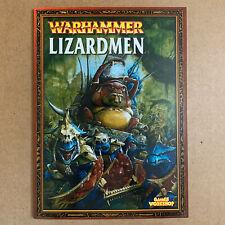 Warhammer Fantasy Battle Armies Lizardmen Army Codex Games Workshop