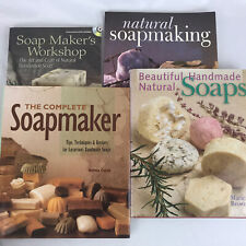 Soap Making Natural Soapmaking Complete Soapmaker 4 Book Lot DVD