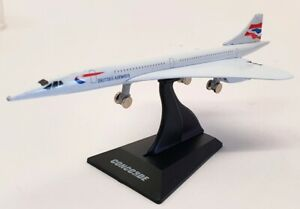 Welly 14cm Long Model Aircraft TY3938 - Concorde British Airways