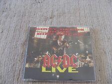 AC/DC - Dirty Deeds Done Dirt Cheap - Live - CD SINGLE - RARE Oz 1992 -AUSTRALIA