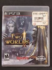 Two Worlds II 2 (Sony PlayStation 3, 2011) COMPLETE! CLEANED & TESTED! FAST SHIP