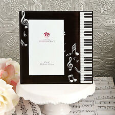 Lot of 3 Piano Keyboard & Music Note G Clef 4 x 6 Picture Photo Frames Free Ship