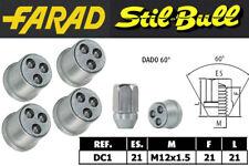 Dadi antifurto Stil Bull Daihatsu YRV cod DC1 cerchi in lega / acciaio