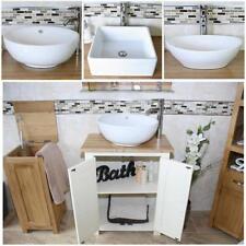 Wooden Home Bathroom Sinks Cloakroom Vanity