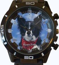 Border Collie New Gt Series Sports Unisex Gift Wrist Watch
