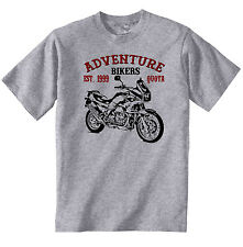 VINTAGE ITALIAN MOTORCYCLE MOTO GUZZI QUOTA 1100 - NEW COTTON T-SHIRT