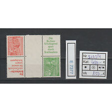 (E7377) Berlin Bauten 1952** gute Kehrzusammendrucke Michel SKZ 3-4  TOP