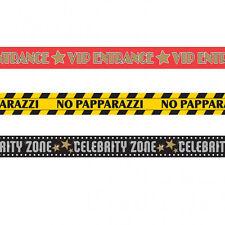 90 Pied Hollywood Décorations Ruban de Signalisation Vip Papparazzi Celebrité