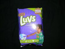 Luvs triple Leakguards Size 6 (35lbs +) 21 Diapers