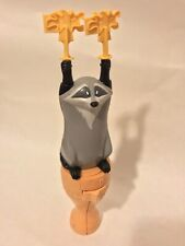 RARE Disney Pocahontas Movie Racoon Meeko Hand Pump Spinning Figurine