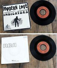 SKA   * INDICATORS *  MODERN LOVE * SKAROCK 1980  RCA Vinyle 45 tr ( 7 '' )