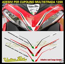 adesivi per cupolino multistrada 1200 stickers for fairing multistrada