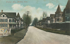 """Meriden CT * Windsor Ave. 1914 * """"P.B. Ale For Brain Fag"""" Sign Beer Alcohol"""
