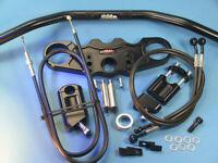 ABM Superbike Lenker-Kit Kawasaki ZX-12 R (ZXT20A) | 00-01 | schwarz