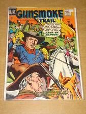 GUNSMOKE TRAIL #2 FN (6.0) AJAX COMICS AUGUST 1957