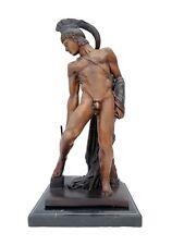 Bronze sculpture of Achilles - Greek mythology