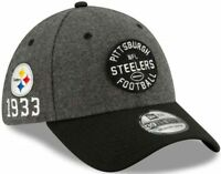 New Era 39Thirty Pittsburgh Steelers Sideline Cap Hat Men's S/M flex fit 1933
