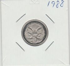 1988 5 Cent proof coin