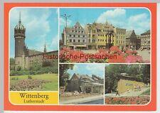 (99493) AK Lutherstadt Wittenberg, Mehrbildkarte, 1983